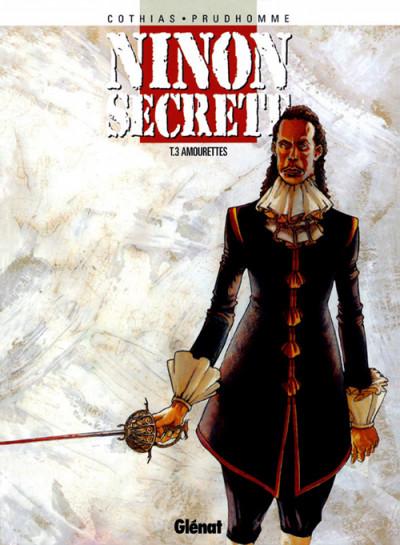 Couverture ninon secrète tome 3 - amourettes
