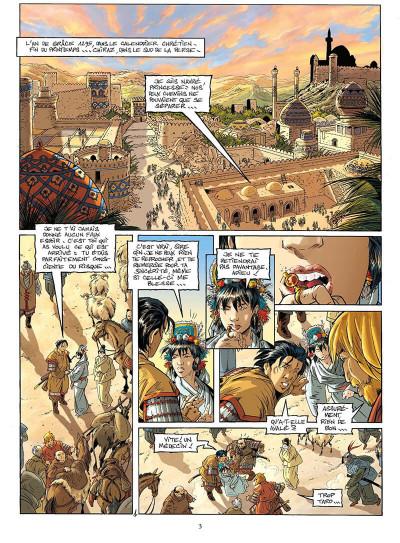 Page 6 le vent des dieux tome 16 - le vieux de la montagne