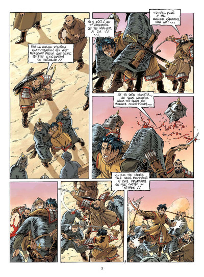 Page 8 le vent des dieux tome 16 - le vieux de la montagne