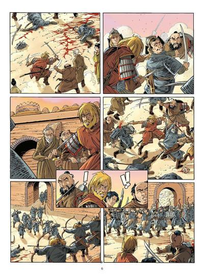 Page 9 le vent des dieux tome 16 - le vieux de la montagne