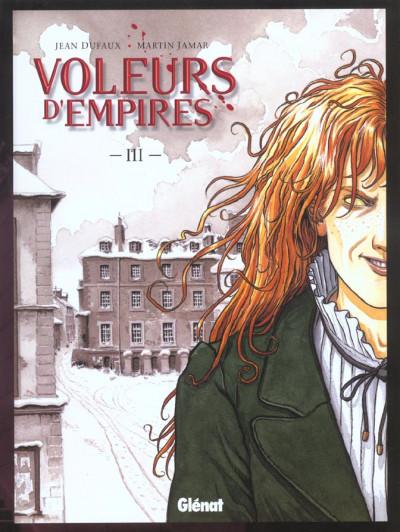 Couverture les voleurs d'empires tome 3 - un sale metier (nouvelle édition)