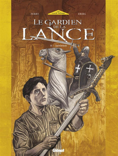 Couverture le gardien de la lance tome 2 - initiation