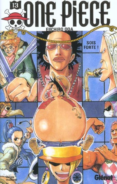 Couverture one piece tome 13 - sois forte