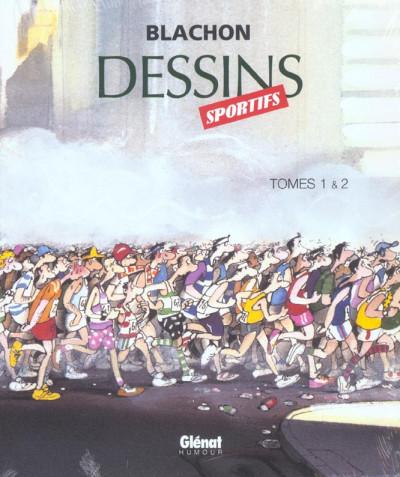 image de dessins sportifs - coffret tome 1 et tome 2