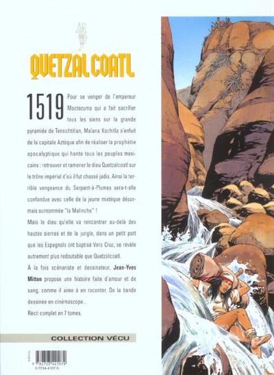 Dos quetzalcoatl tome 5 - la putain et le conquistador