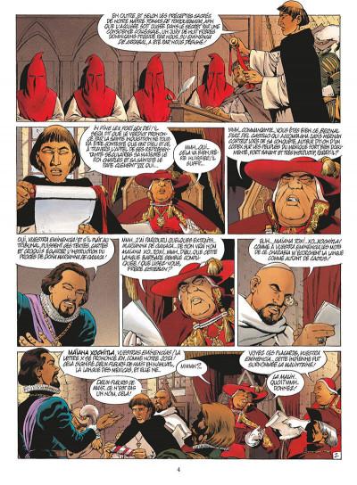 Page 7 quetzalcoatl tome 5 - la putain et le conquistador