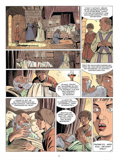 Page 7 les aigles décapitées tome 17 - le châtiment du banni