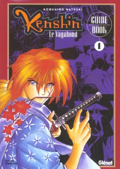 Couverture kenshin le vagabond ; guide book 1