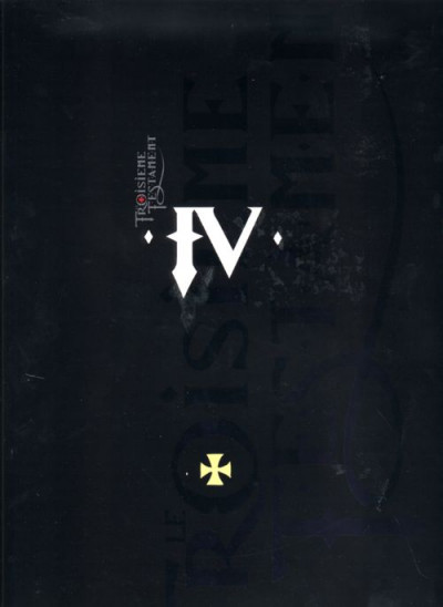 Couverture le troisième testament tome 4 - jean ou le jour du corbeau (luxe)