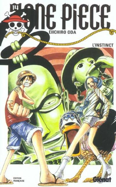 Couverture one piece tome 14 - l'instinct