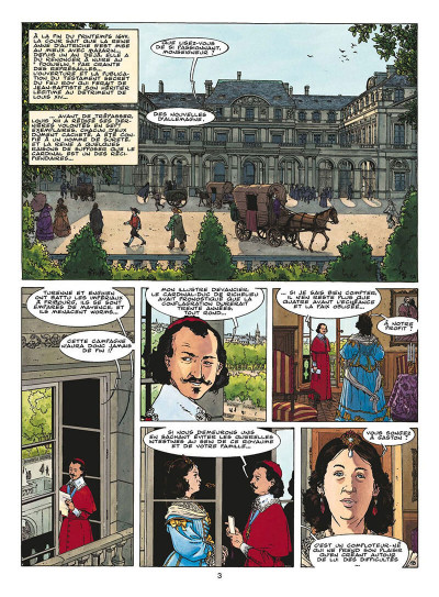 Page 6 le fou du roy tome 9 - le testament de d'artagnan