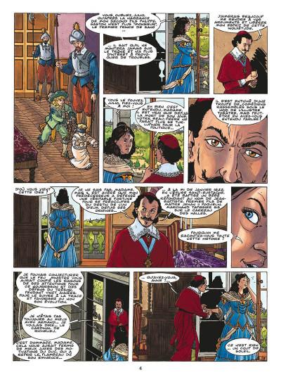 Page 7 le fou du roy tome 9 - le testament de d'artagnan