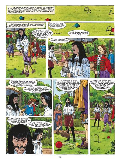 Page 8 le fou du roy tome 9 - le testament de d'artagnan