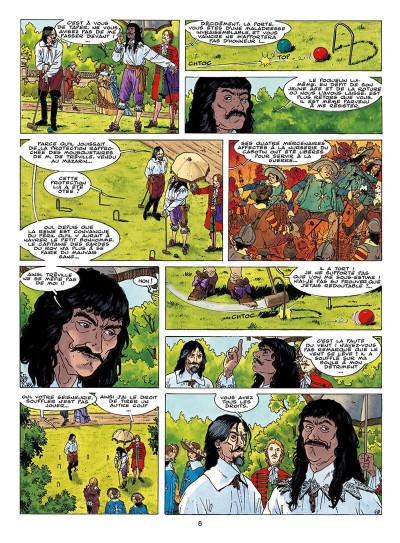 Page 9 le fou du roy tome 9 - le testament de d'artagnan