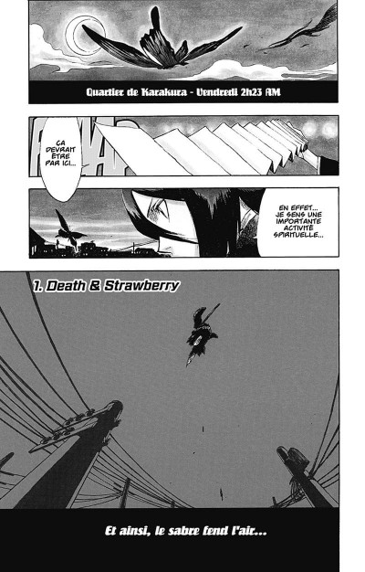 Page 4 bleach tome 1 - the death and the strawberry