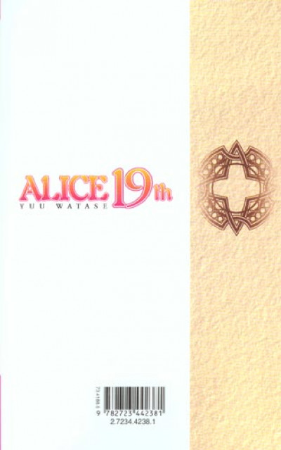 Dos alice 19th tome 1