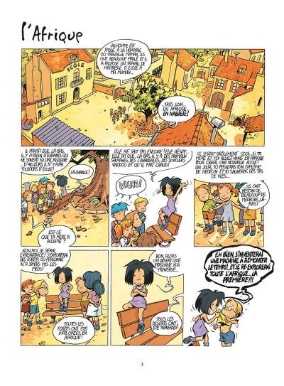 Page 6 mirabelle tome 3 - l'école de la femme-lion