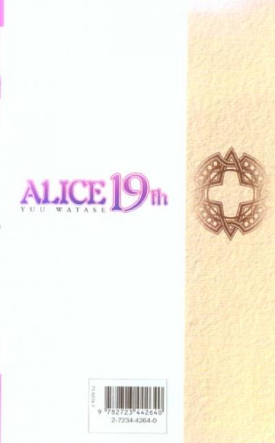 Dos alice 19th tome 4