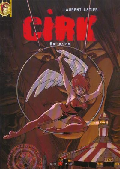 Couverture Cirk tome 2 - ballerine