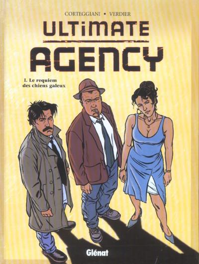 Couverture Ultimate agency tome 1 - le requiem des chiens galeux