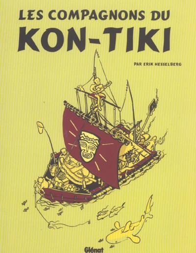 Couverture les compagnons du kon tiki