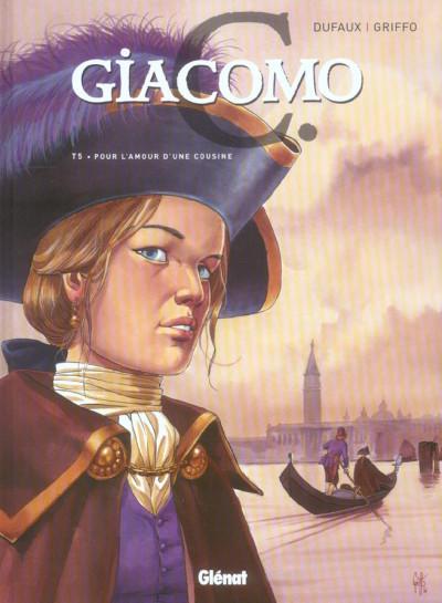 Couverture giacomo c. tome 5 - pour l'amour d'une cousine