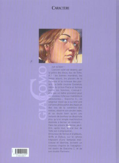 Dos giacomo c. tome 5 - pour l'amour d'une cousine