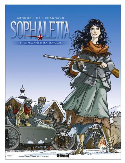 image de sophaletta tome 8 - le rescapé d'ekaterinodar