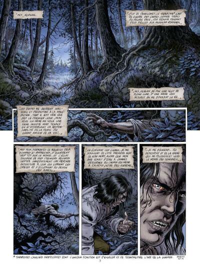 Page 1 Le prince de la nuit tome 7 - La Première mort