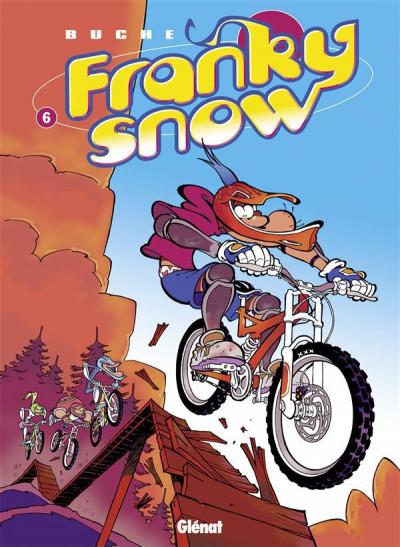 Couverture franky snow tome 6 - bienvenue à gamelleland