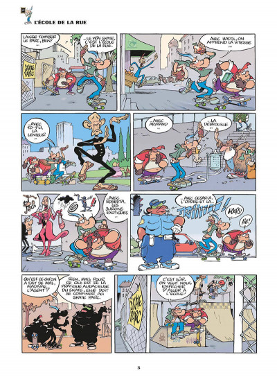Page 6 franky snow tome 6 - bienvenue à gamelleland