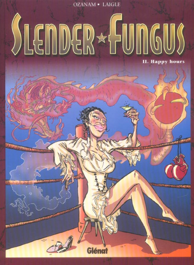 Couverture Slender fungus tome 2 - happy hours