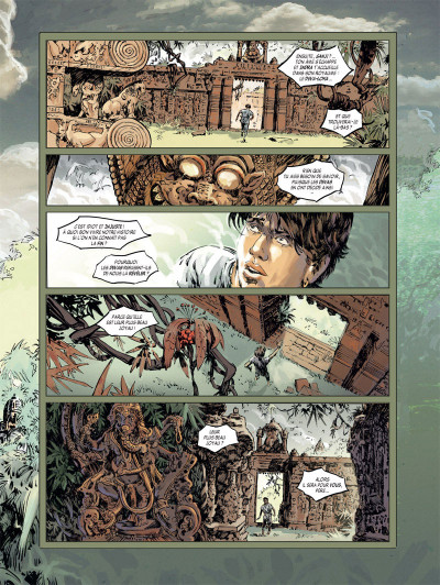 Page 2 le syndrôme d'abel tome 1 - exil