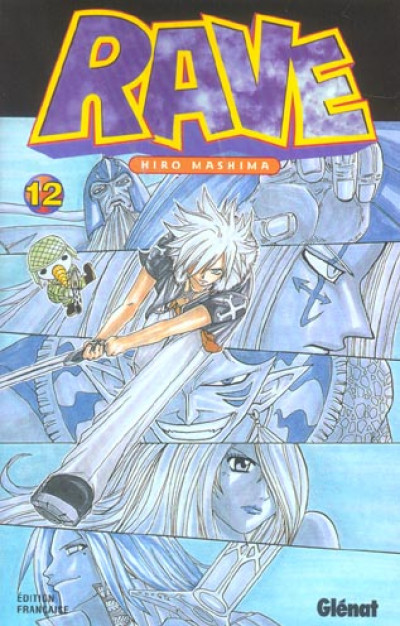 Couverture rave tome 12