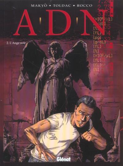 Couverture a.d.n tome 2 - l'ange noir