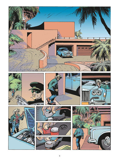 Page 4 zambada tome 4 - double jeu