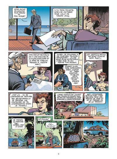 Page 6 zambada tome 4 - double jeu