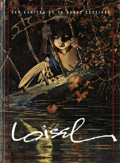 Couverture Les cahiers de la bande dessinée présentent Régis Loisel