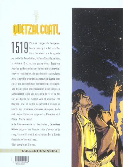 Dos quetzalcoatl tome 6 - la noche triste
