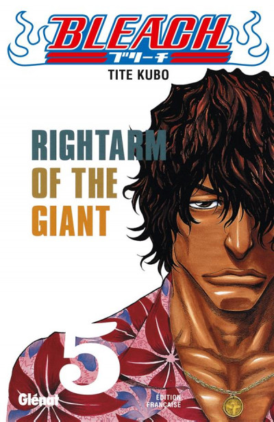 Couverture bleach tome 5 - rightarm of the giant