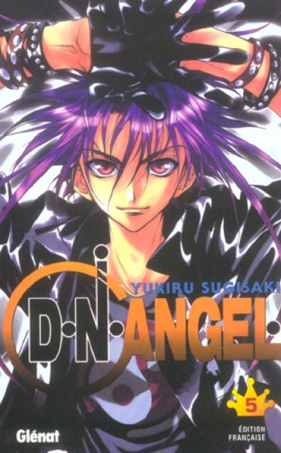 Couverture d.n.angel tome 5