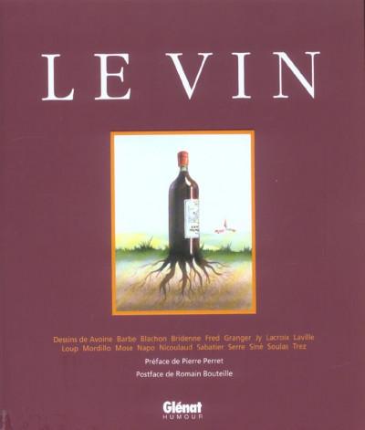 Couverture le vin - compil tome 1 et tome 2