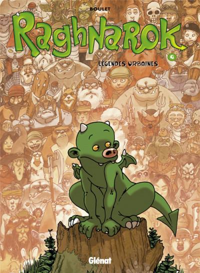 image de raghnarok tome 4 - légendes urbaines