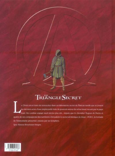 Dos le triangle secret - inri tome 2 - la liste rouge