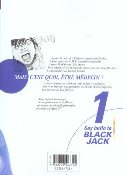 Dos say hello to black jack tome 1