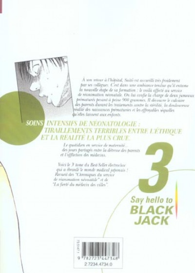 Dos say hello to black jack tome 3