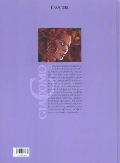 Dos giacomo c. tome 14 - boucle d'or