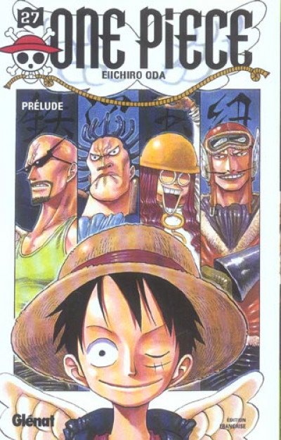 Couverture one piece tome 27 - prélude
