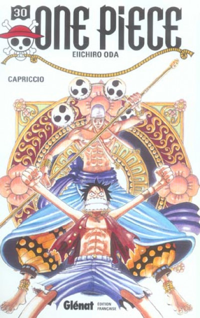 Couverture one piece tome 30 - capriccio