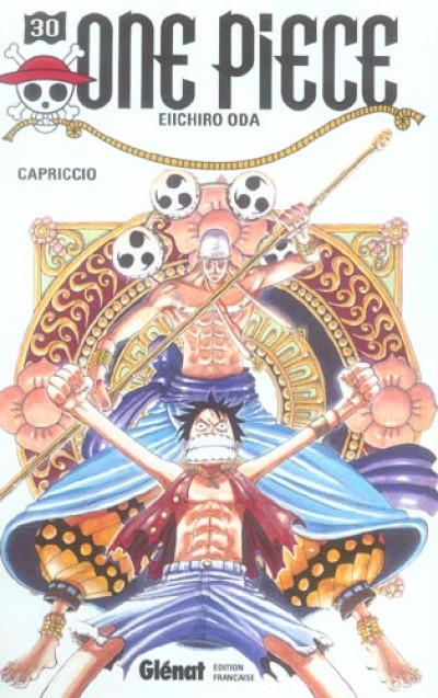 Couverture one piece tome 30 - capriccio